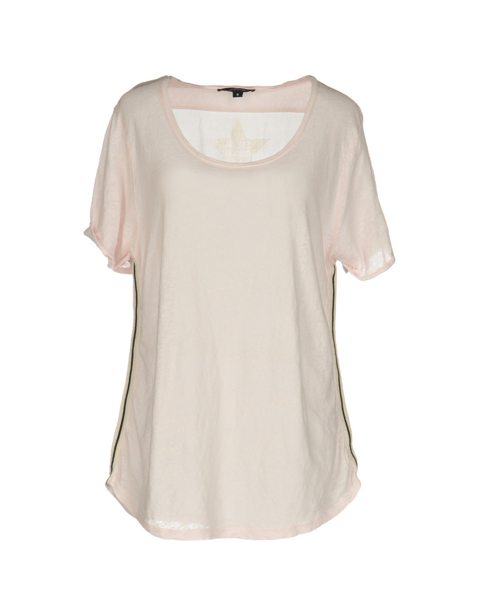 JET SET T-Shirt in Light Pink