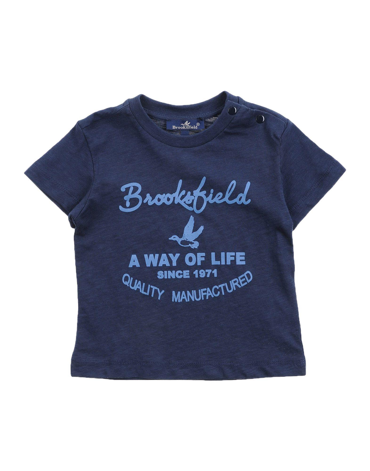 Brooksfield Kids' T-shirts In Blue