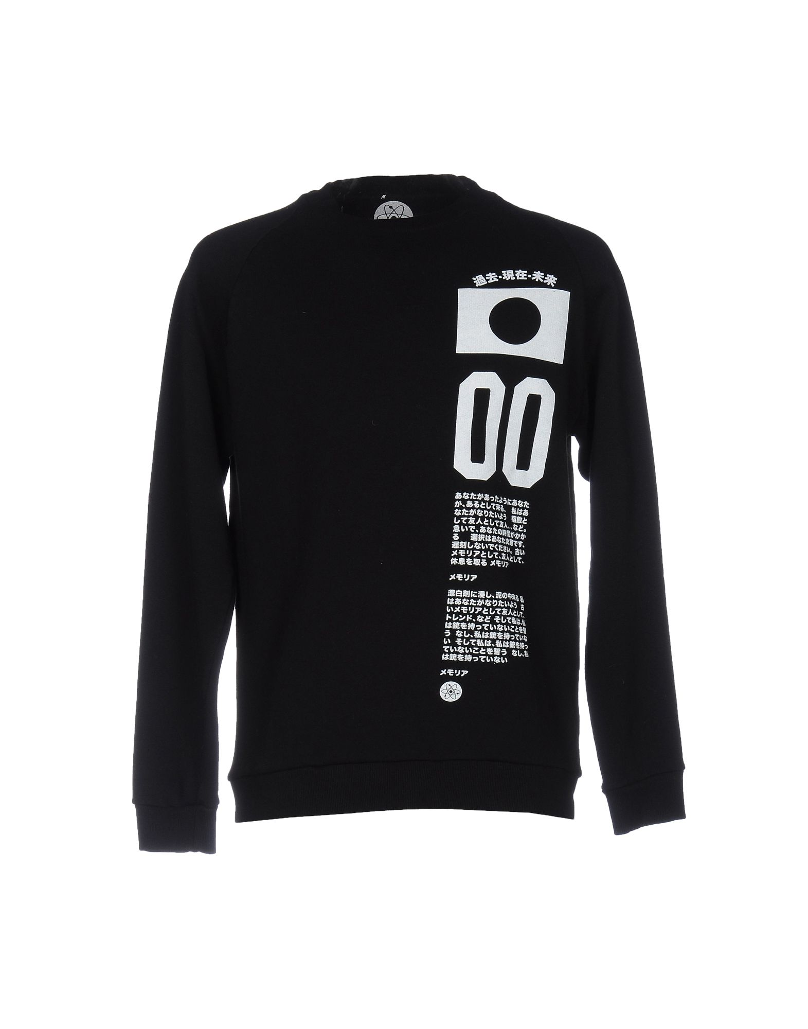 ATOMO Herren Sweatshirt Farbe Schwarz Größe 5