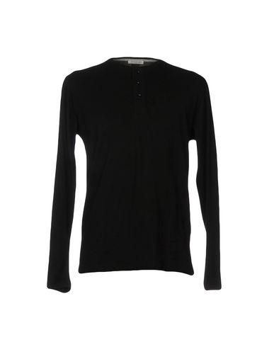 Фото - Женскую футболку PAOLO PECORA черного цвета