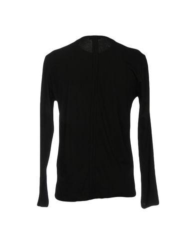 Фото 2 - Женскую футболку PAOLO PECORA черного цвета