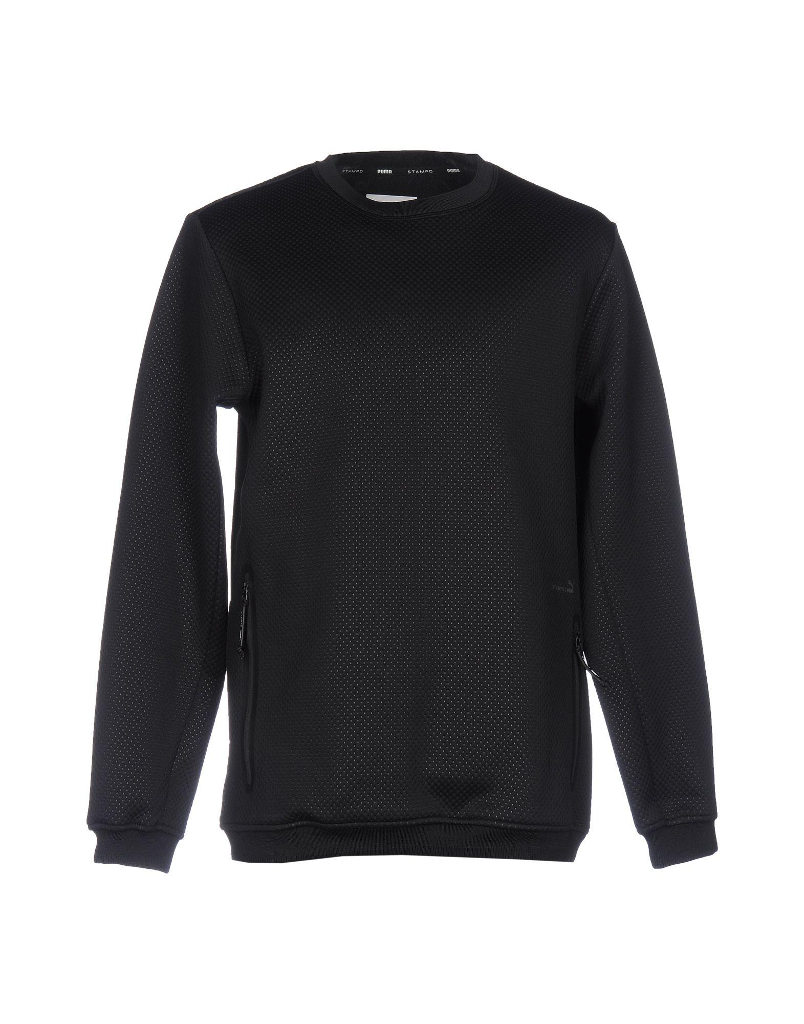 STAMPD x PUMA Herren Sweatshirt Farbe Schwarz Größe 7