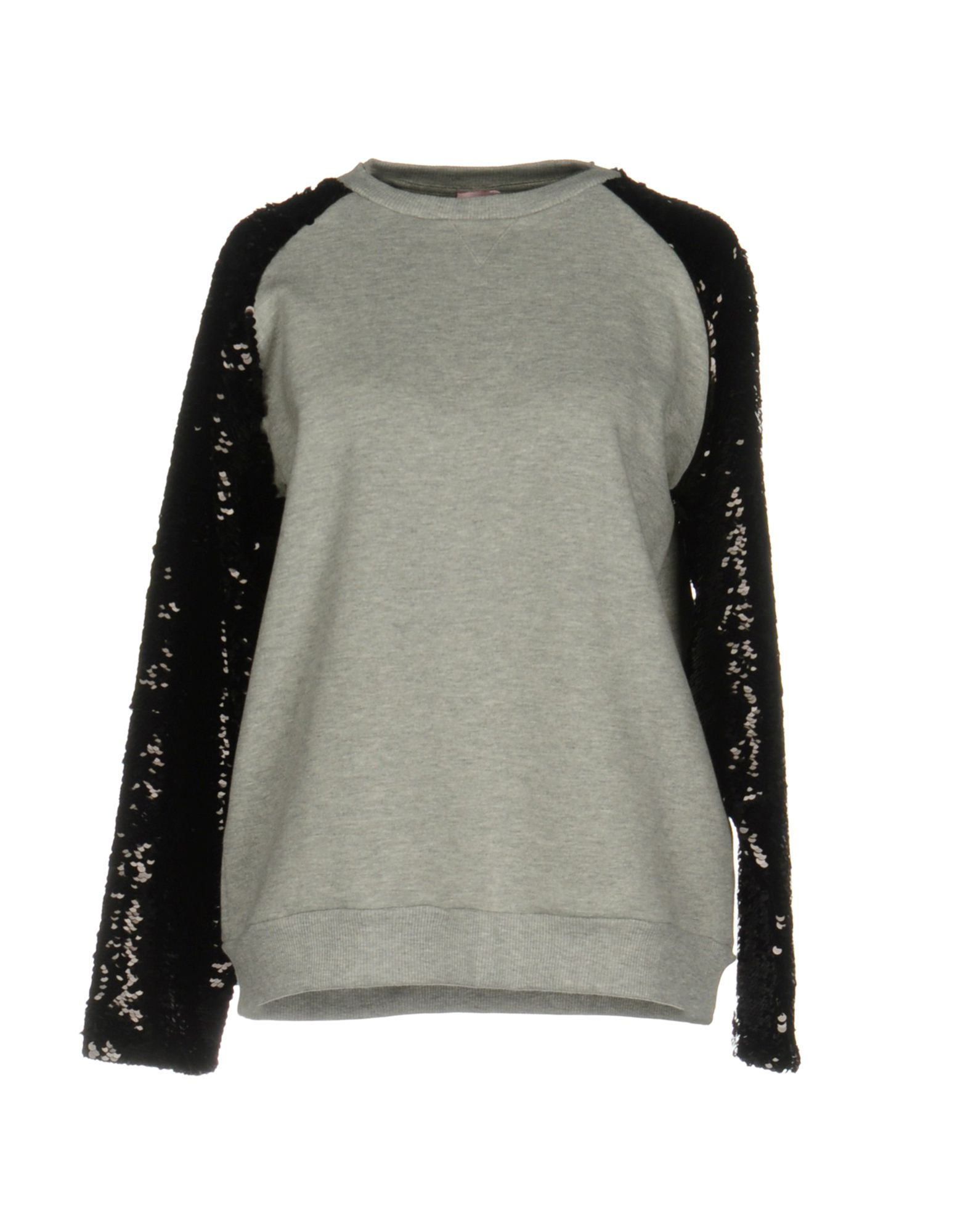 GIAMBA Damen Sweatshirt Farbe Hellgrau Größe 2