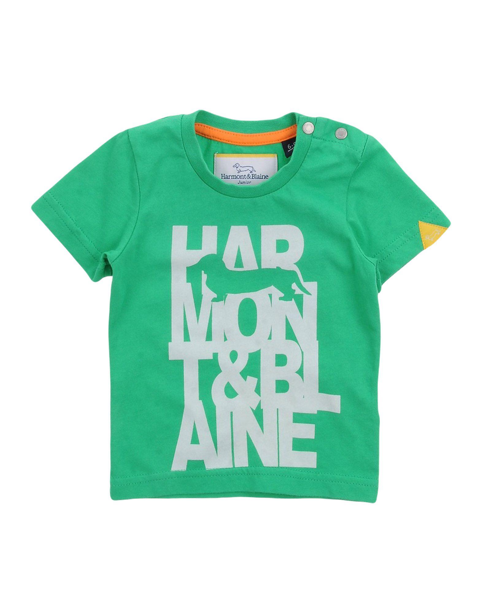 HARMONT&BLAINE Jungen 0-24 monate T-shirts Farbe Grün Größe 6