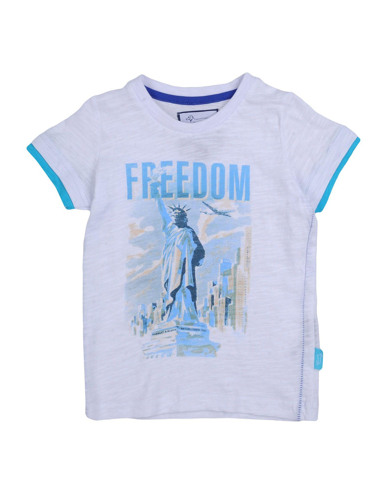 HARMONT&BLAINE Jungen 0-24 monate T-shirts Farbe Weiß Größe 10