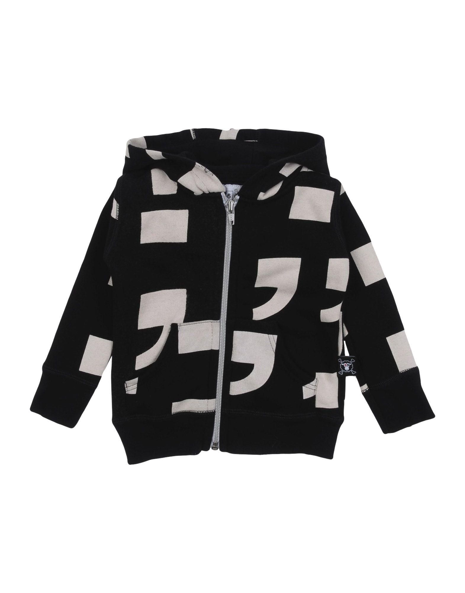 NUNUNU Jungen 0-24 monate Sweatshirt Farbe Schwarz Größe 4