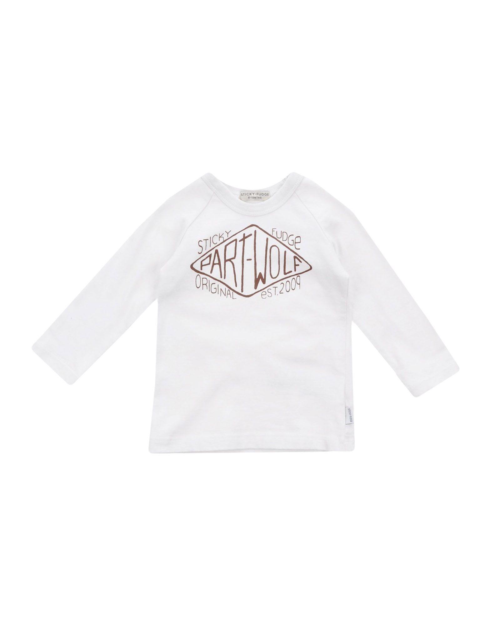 STICKY FUDGE Mädchen 0-24 monate T-shirts Farbe Beige Größe 8