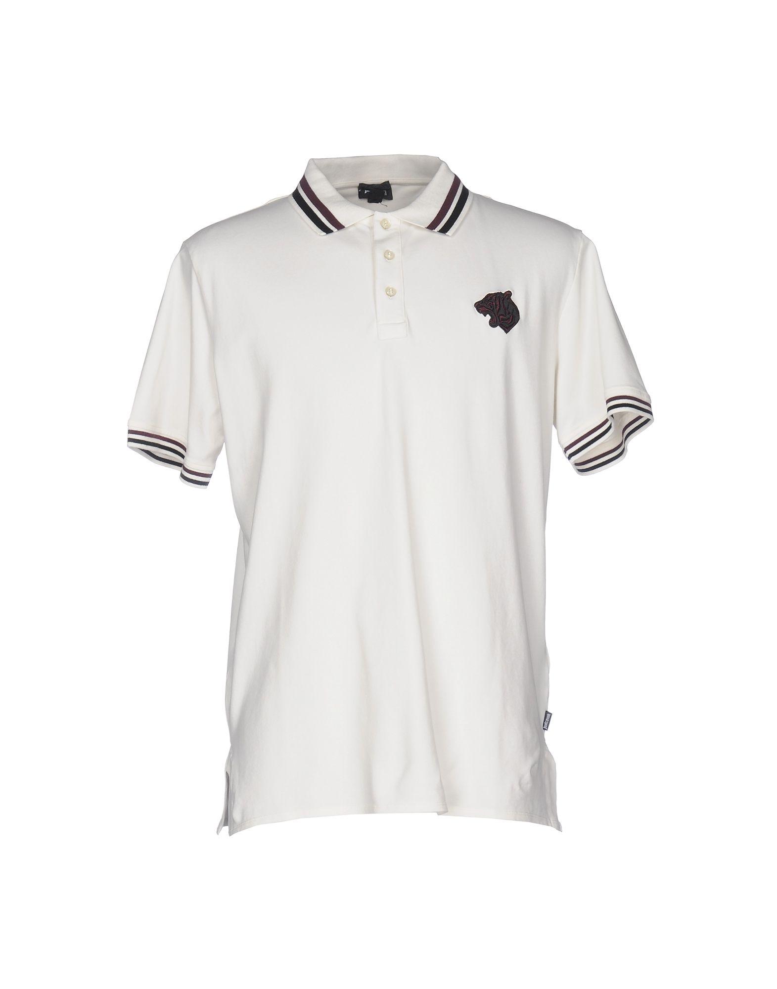 JUST CAVALLI Поло zogaa новых корейских мужской рубашки поло моды тонкая вышивка