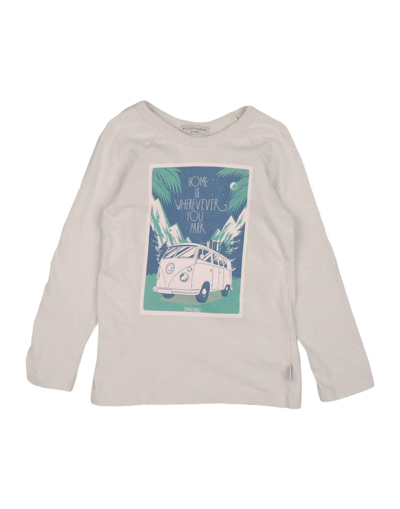 STICKY FUDGE Mädchen 3-8 jahre T-shirts Farbe Hellgrau Größe 3