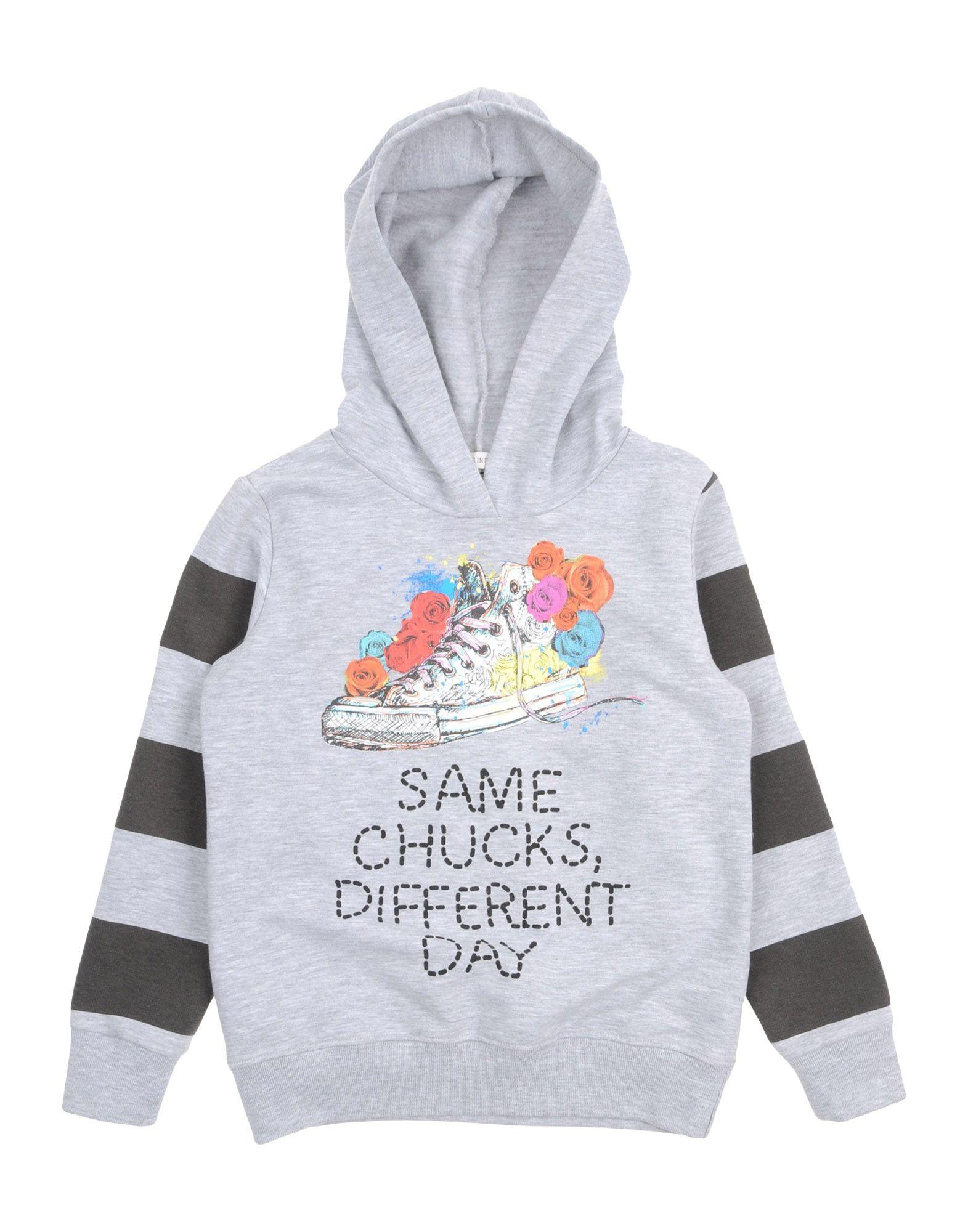 CONVERSE ALL STAR Mädchen 3-8 jahre Sweatshirt Farbe Grau Größe 4