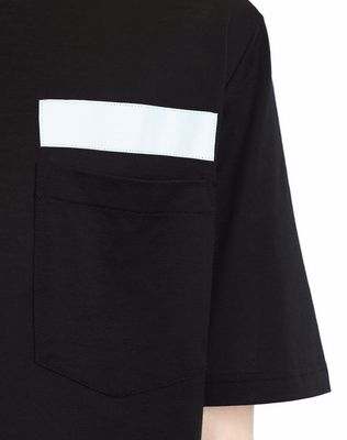 LANVIN T-SHIRT WITH REFLECTIVE STRIP Polos & T-Shirts U b