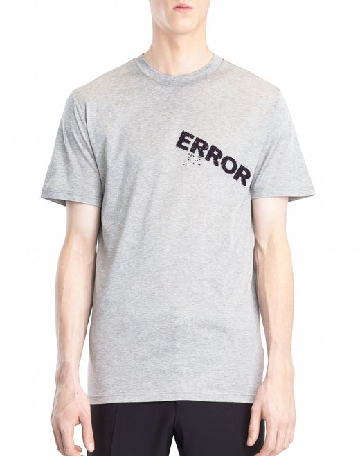 "lanvin ""error"" t-shirt men"