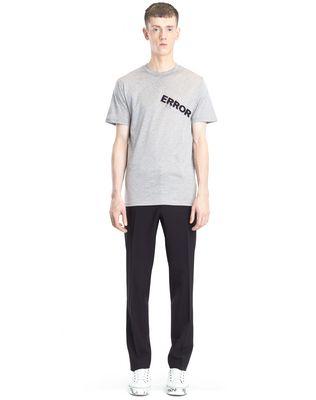 "LANVIN ""ERROR"" T-SHIRT Polos & T-Shirts U r"