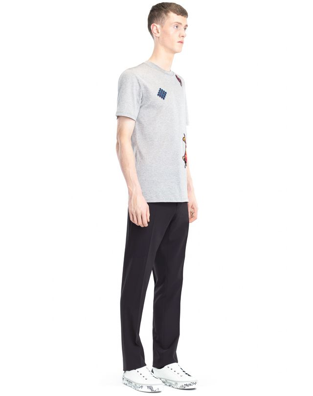 LANVIN EMBROIDERED T-SHIRT Polos & T-Shirts U e