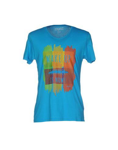 Купить Женскую футболку LIU •JO MAN лазурного цвета