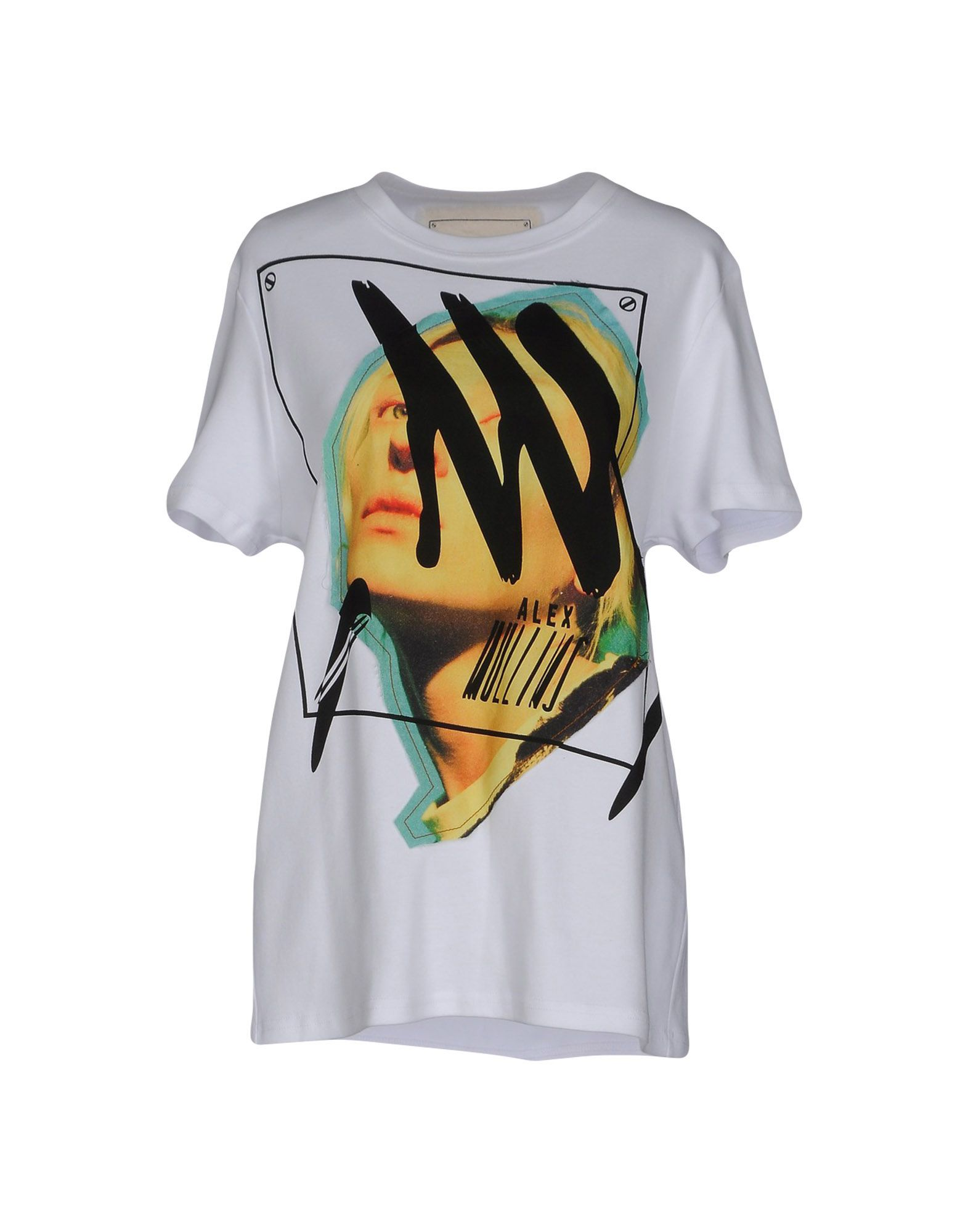 ALEX MULLINS T-Shirt in White
