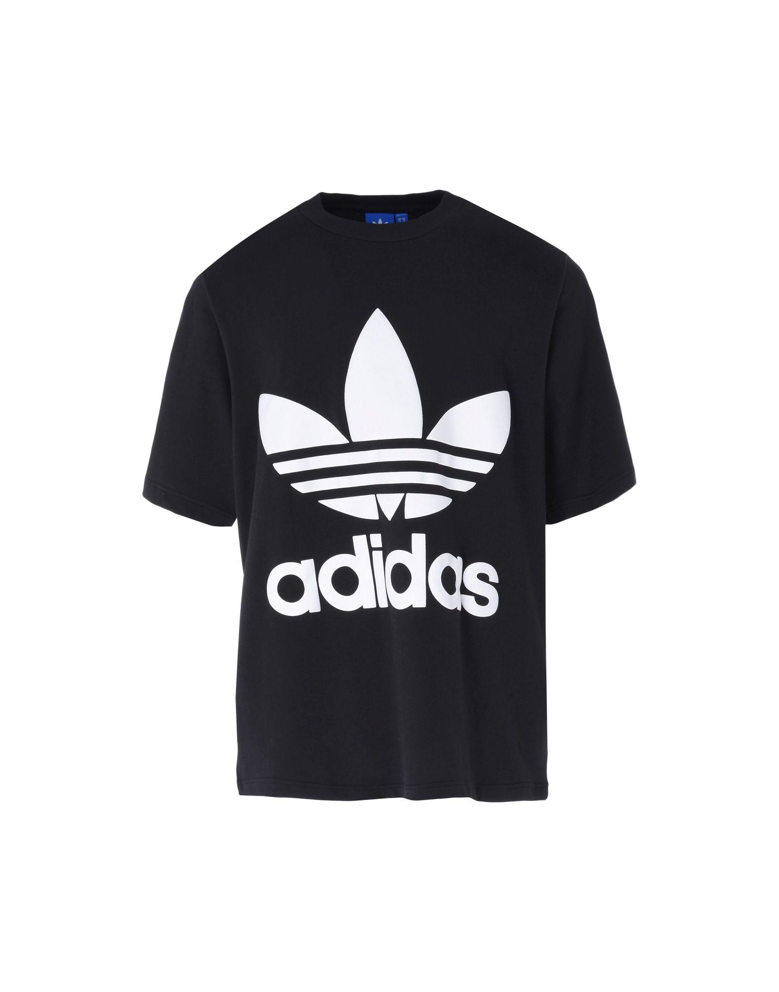 《送料無料》ADIDAS ORIGINALS メンズ T シャツ ブラック S コットン 100% AC BOXY TEE