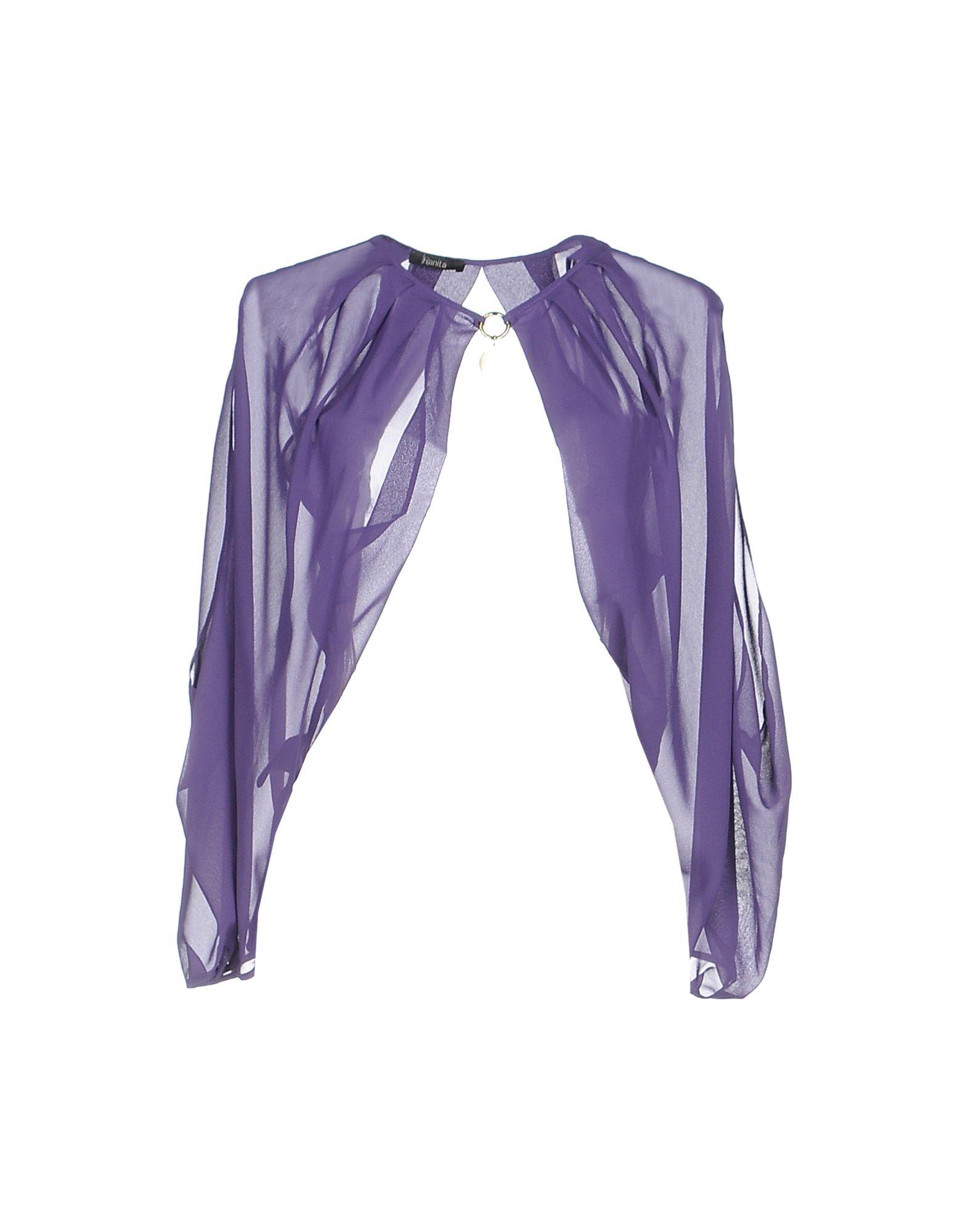 HANITA Damen Bolero Farbe Violett Größe 3