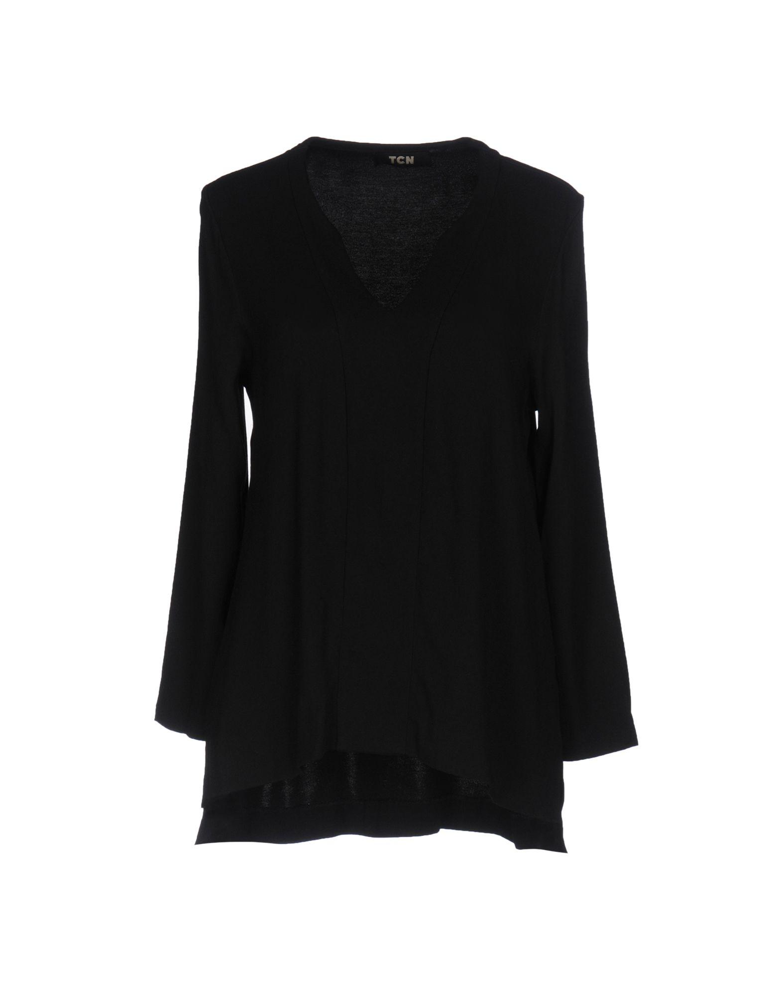 TCN di TOGNETTI MASSIMO Damen Bluse Farbe Schwarz Größe 5