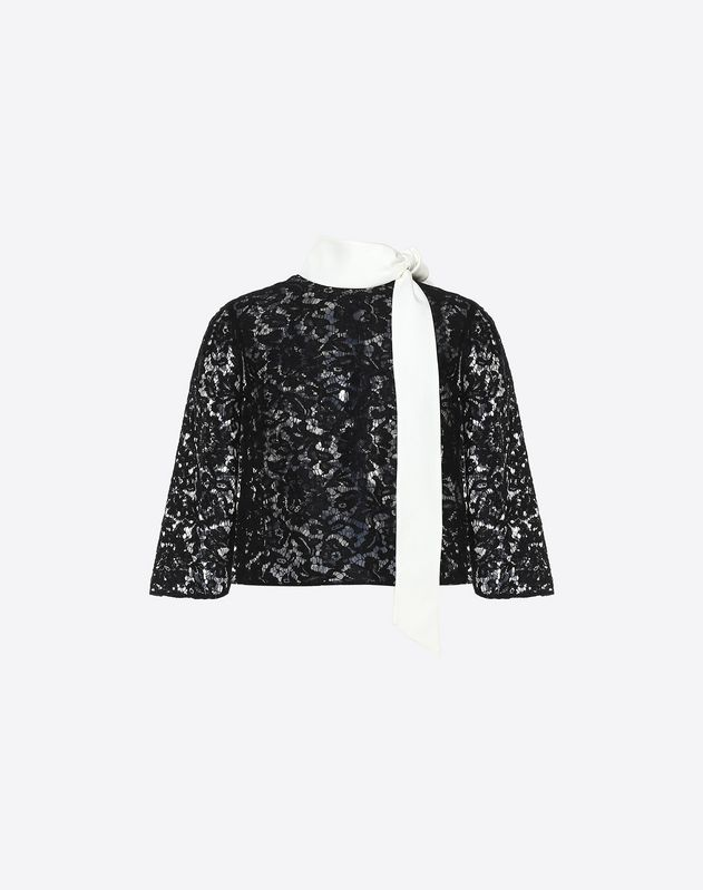Cape-Top aus Heavy Lace