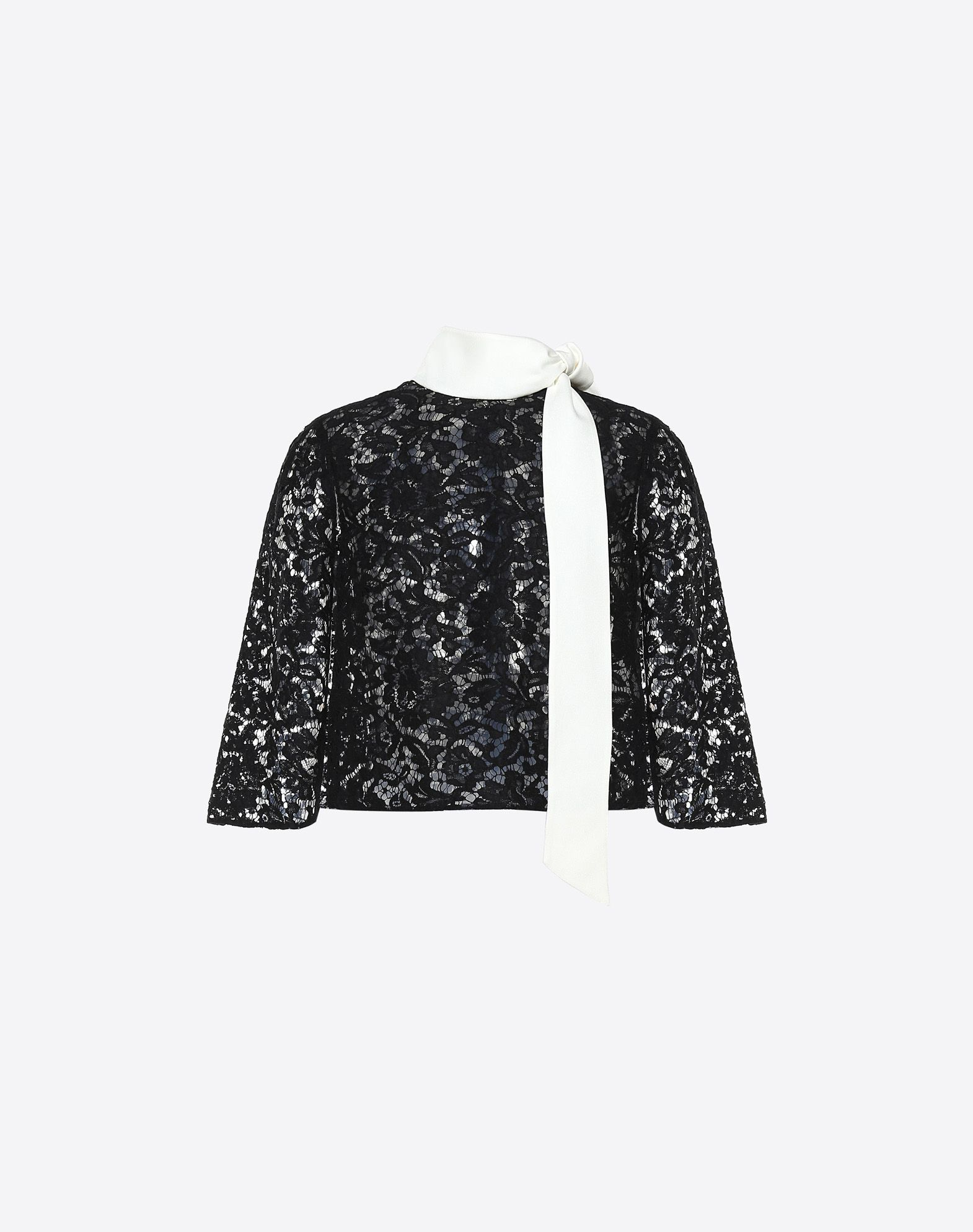 Heavy Lace cape top