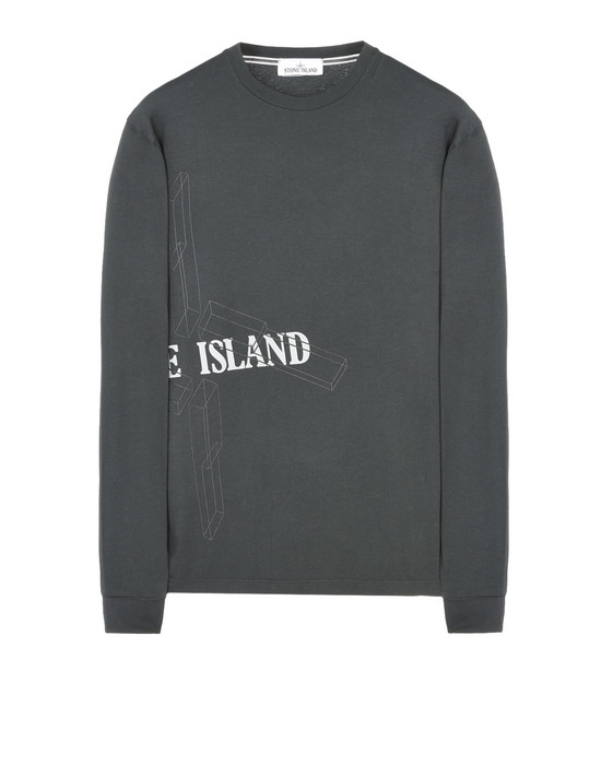 STONE ISLAND Long sleeve t-shirt 2ML82 EXPLODED STAR