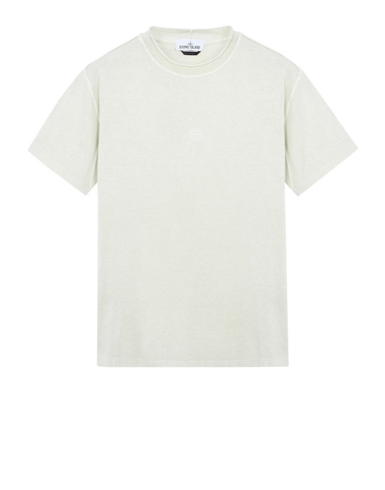 STONE ISLAND Short sleeve t-shirt 20242 'FISSATO' DYE TREATMENT