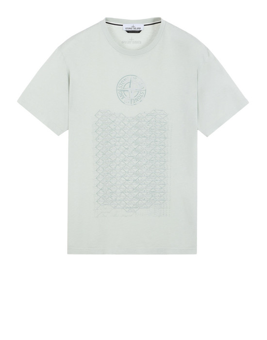 STONE ISLAND Short sleeve t-shirt 2NS86 HABITAT