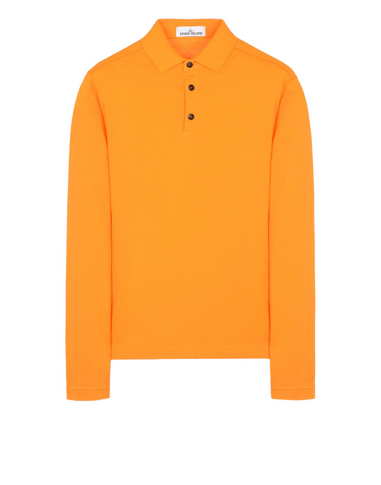 STONE ISLAND Polo shirt 22042 'FISSATO' DYE TREATMENT