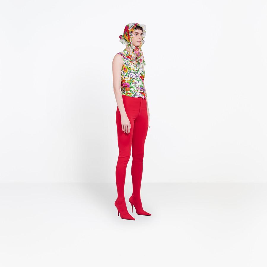 BALENCIAGA Gathered Couture Top Top Woman i