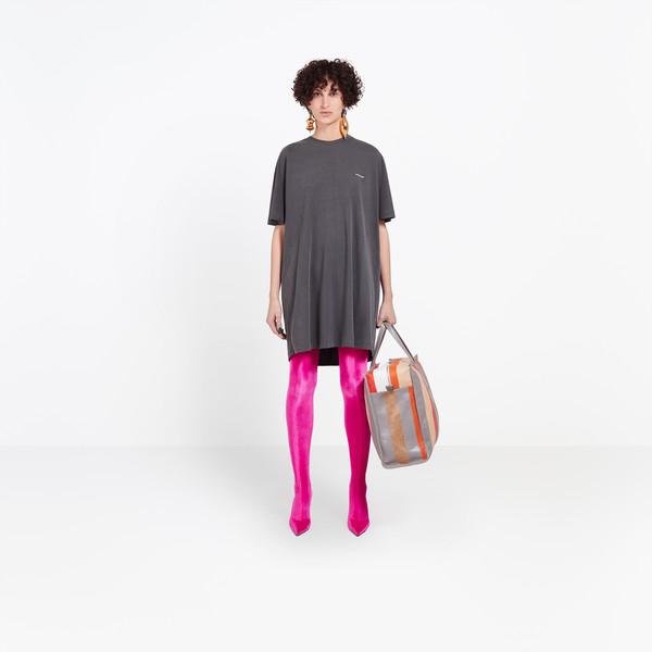 BALENCIAGA Top Woman Cocoon Short Sleeves Tunic g