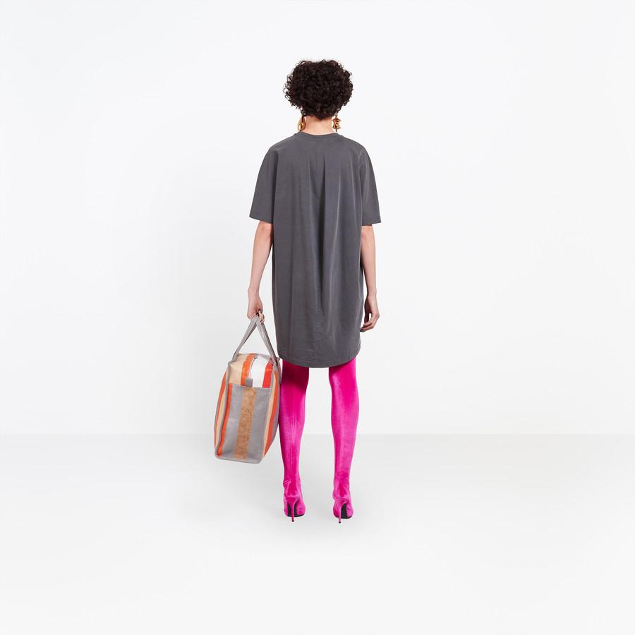 BALENCIAGA Cocoon Short Sleeves Tunic Top Woman d