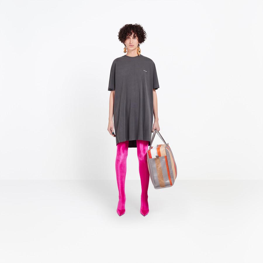 BALENCIAGA Cocoon Short Sleeves Tunic Top Woman f