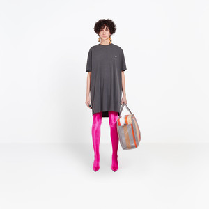 BALENCIAGA Top Woman Cocoon Short Sleeves Tunic f