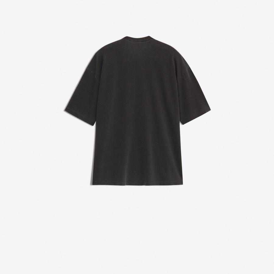 BALENCIAGA Cocoon Short Sleeves T-Shirt JERSEY Woman d