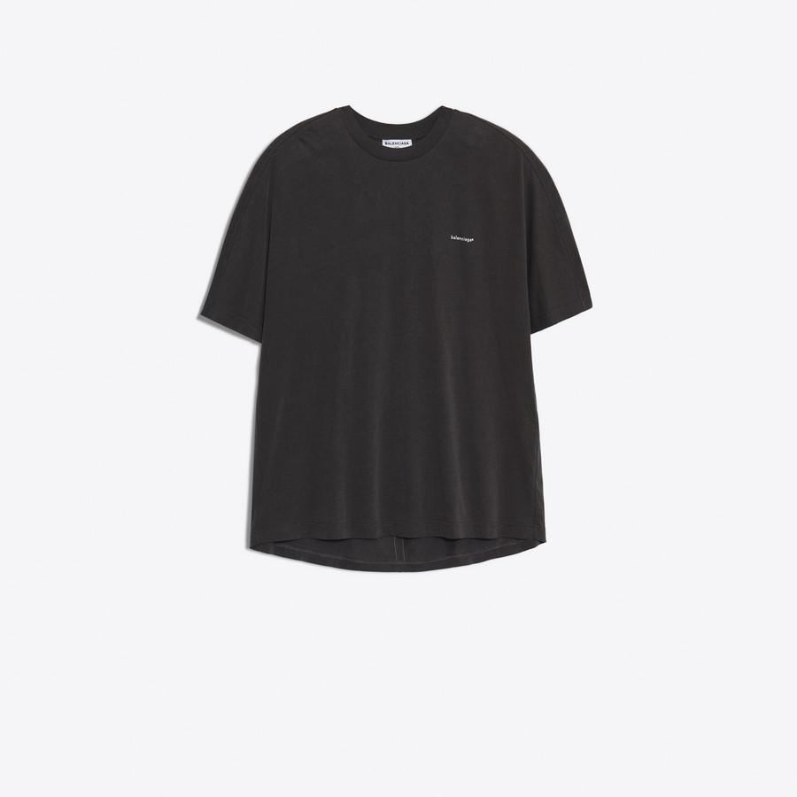 BALENCIAGA Cocoon Short Sleeves T-Shirt JERSEY Woman f