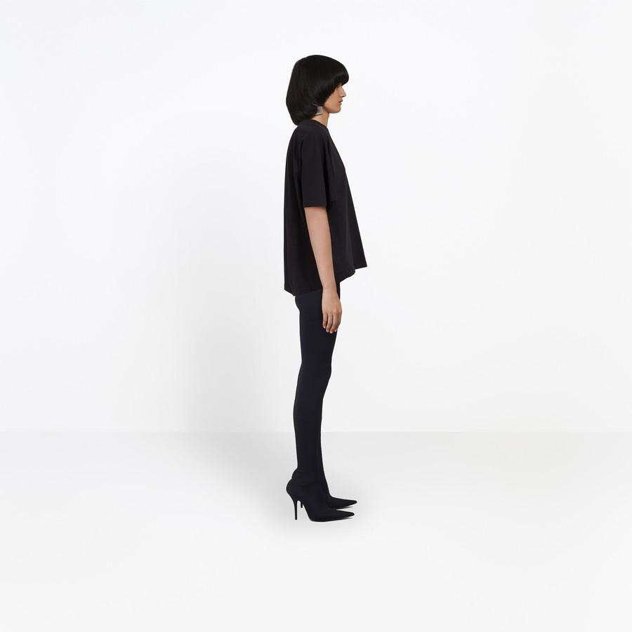 BALENCIAGA Cocoon Short Sleeves T-Shirt JERSEY Woman i
