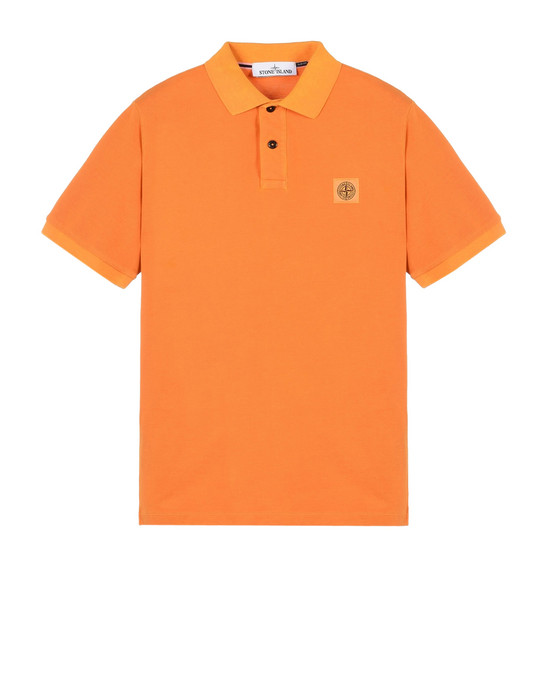 STONE ISLAND Polo shirt 22S67 PIGMENT DYED