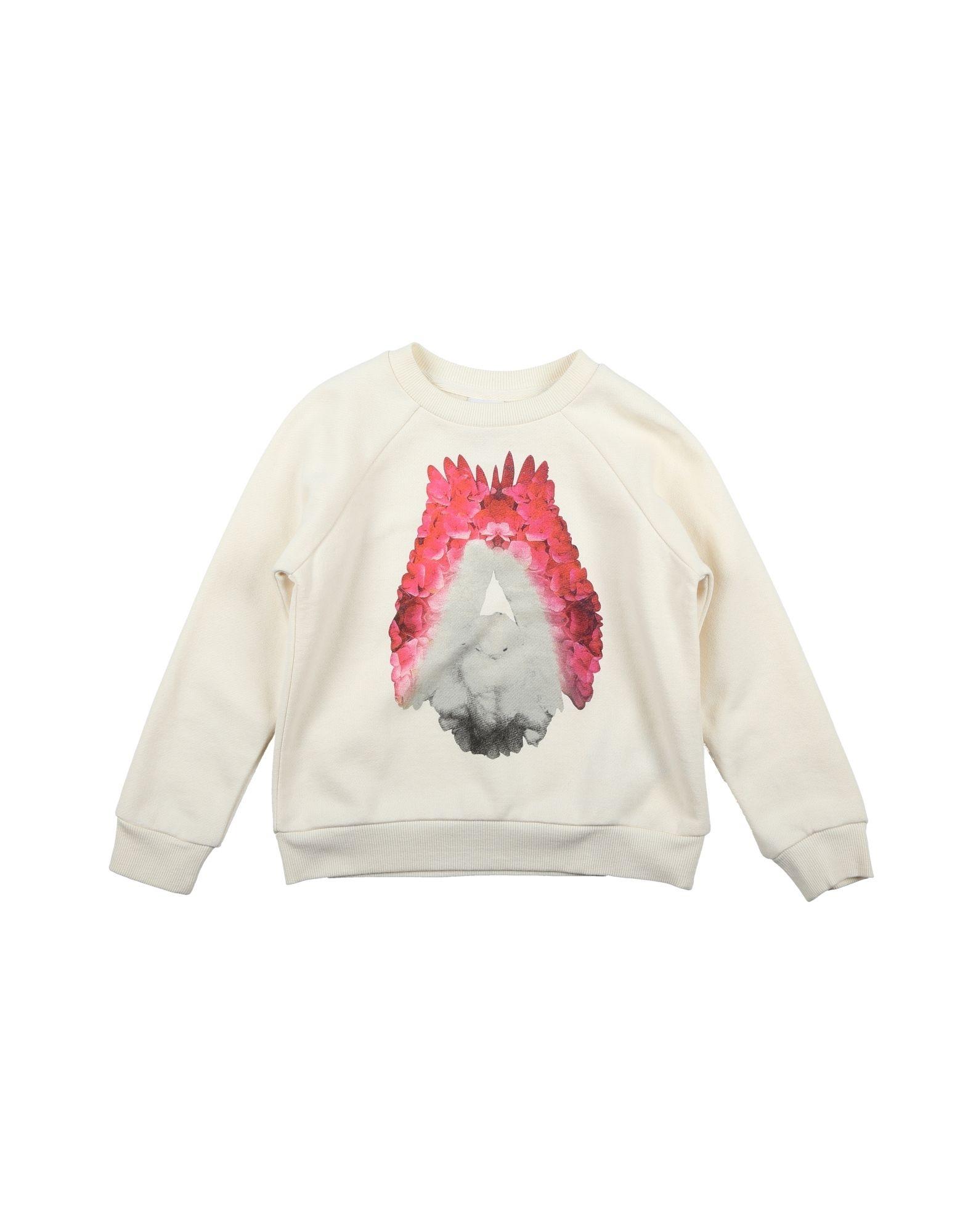 DONDUP DQUEEN Mädchen 3-8 jahre Sweatshirt Farbe Elfenbein Größe 2