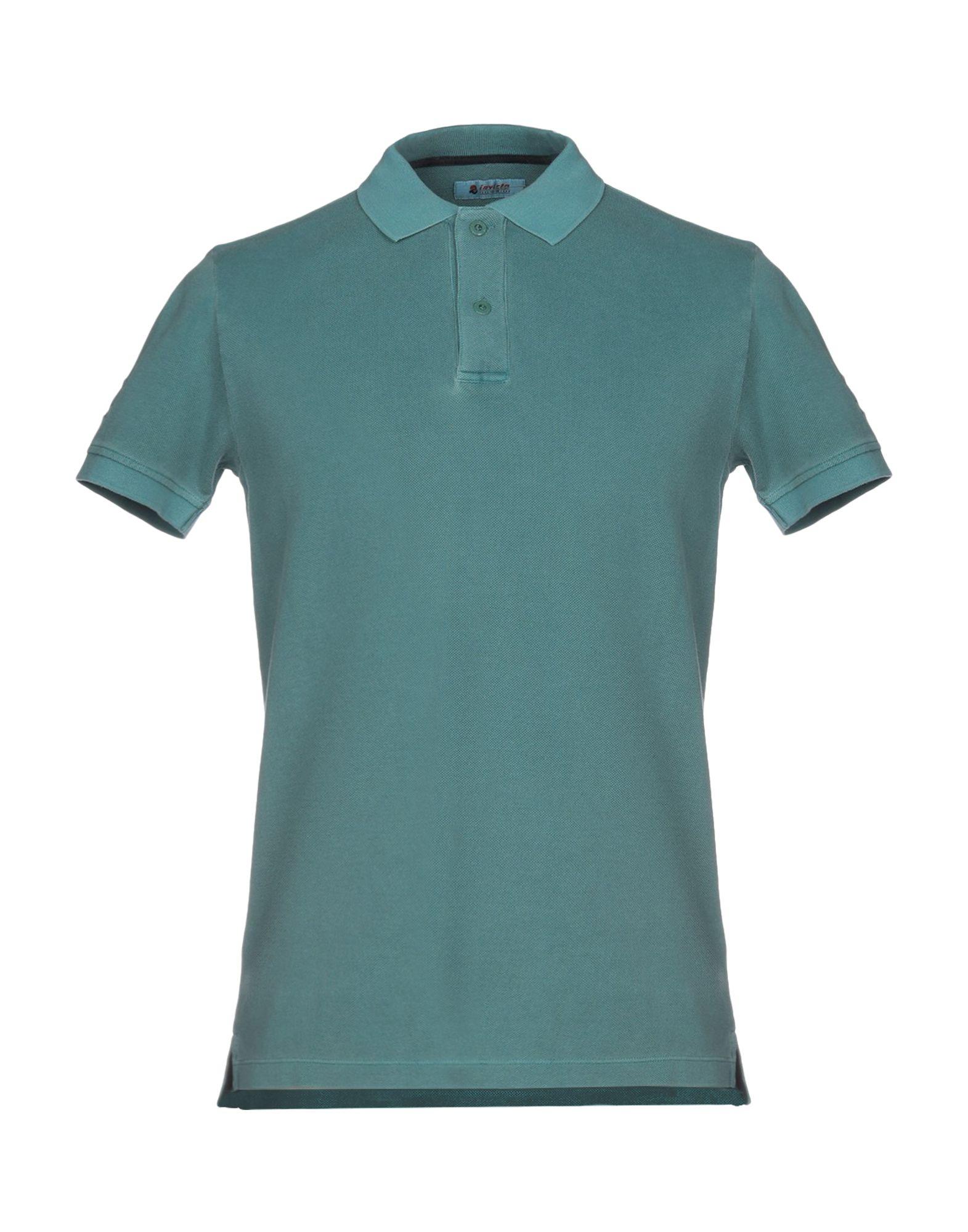 《送料無料》INVICTA メンズ ポロシャツ ブルーグレー M コットン 100%