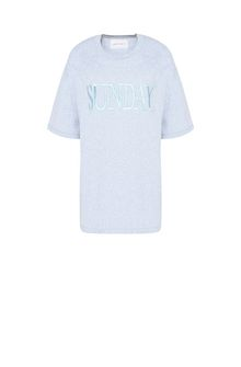 ALBERTA FERRETTI SUNDAY IN GREY T-shirt Woman e