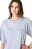 ALBERTA FERRETTI SUNDAY IN GREY T-shirt D a