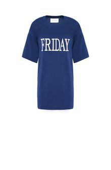 ALBERTA FERRETTI FRIDAY IN BLUE T-shirt D e