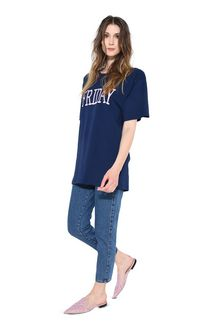 ALBERTA FERRETTI FRIDAY IN BLUE T-Shirt D f