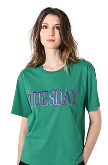 ALBERTA FERRETTI TUESDAY IN GREEN T-shirt Woman a