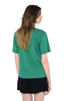 ALBERTA FERRETTI TUESDAY IN GREEN T-shirt Woman d