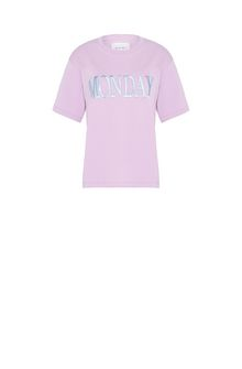 ALBERTA FERRETTI MONDAY IN PINK T-shirt Woman e