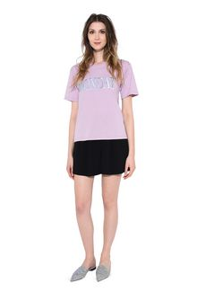 ALBERTA FERRETTI MONDAY IN PINK T-shirt Woman f