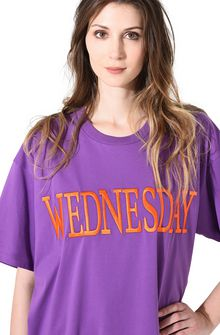 ALBERTA FERRETTI WEDNESDAY IN VIOLET T-shirt D a