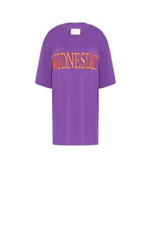 ALBERTA FERRETTI WEDNESDAY IN VIOLET T-shirt Woman e